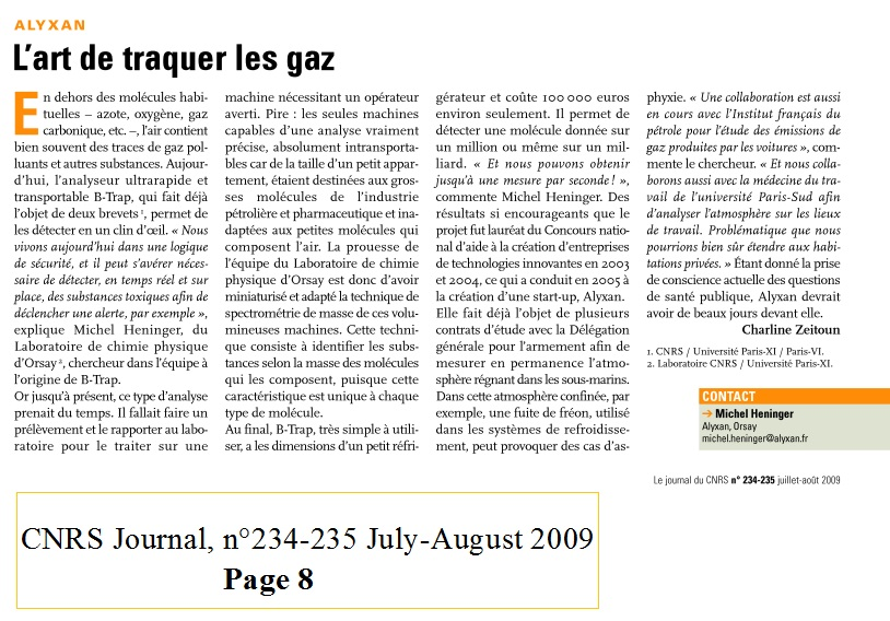 l'art de traquer les gaz CNRS journal